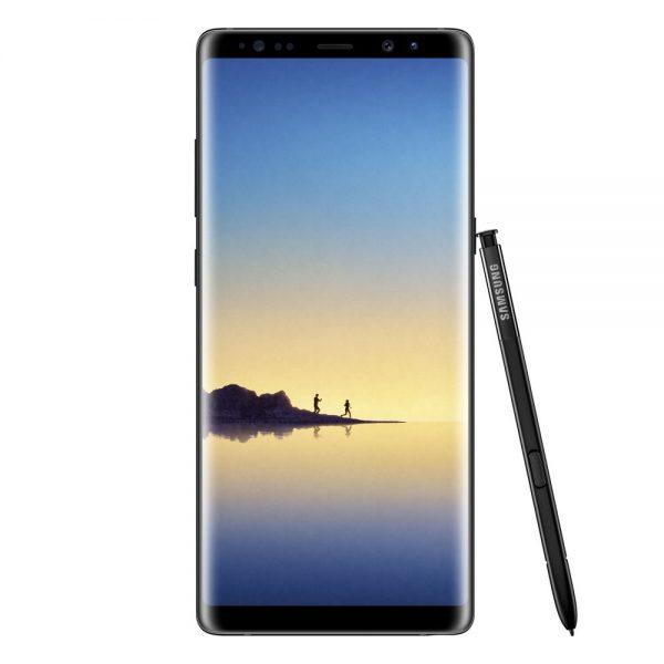 GalaxyNote8_Black_Front_Pen